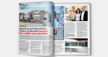 Kaya Safety and Carlstahl Partnership in Czech Republic