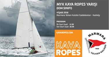 Kaya Ropes'tan IOM Sınıfına Destek